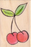 Hero cherry stamp