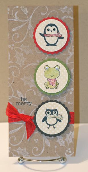 Long critter card
