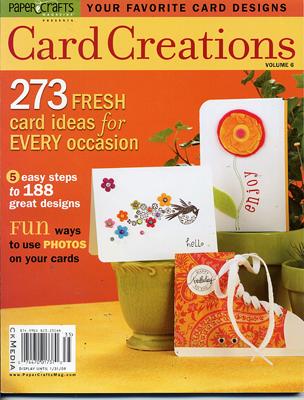 Card Creations Vol 6