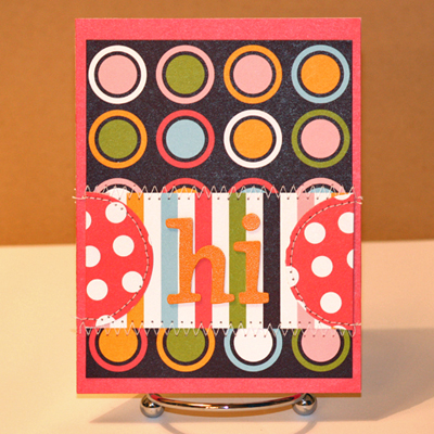 102408 Hi dotted cards standing