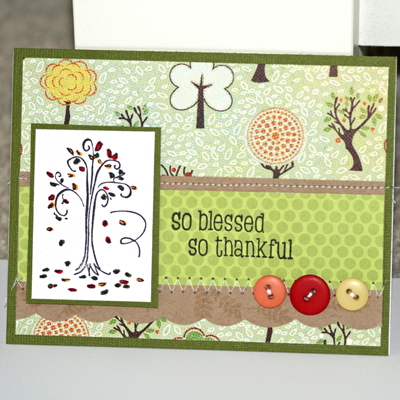101507 So blessed card standing