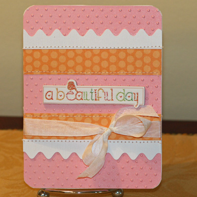 021909 Beautiful day Chatterbox card