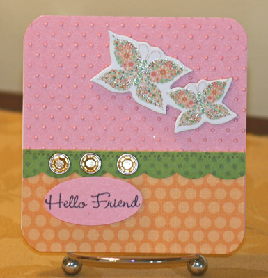 021909 Hello Friend Chatterbox card