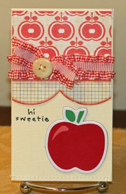 Hi Sweetie apple card