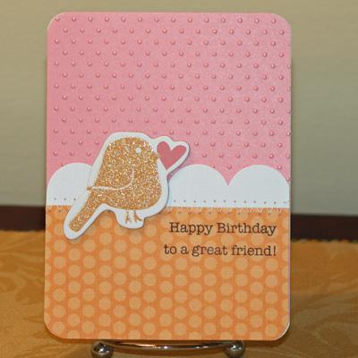 021909 Birthday birdie Chatterbox card