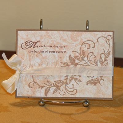 021909 Papertrey sympathy card