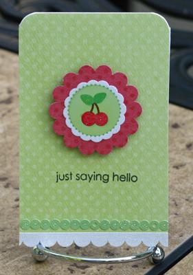 Just saying hello green dot card