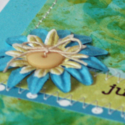 Just because alc ink card close up 3