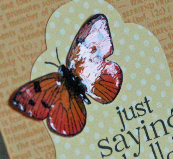 052210 Saying hello butterfly card close up 1