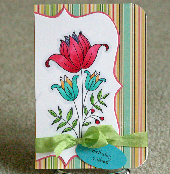 061310 Jennifer bday card standing