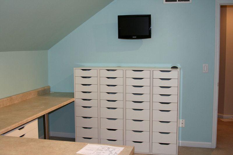 4 alex drawer units