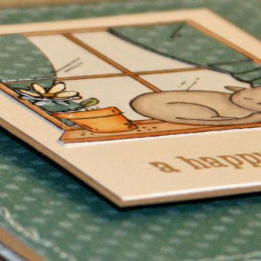 100510 Happy hello kitty card close up 1