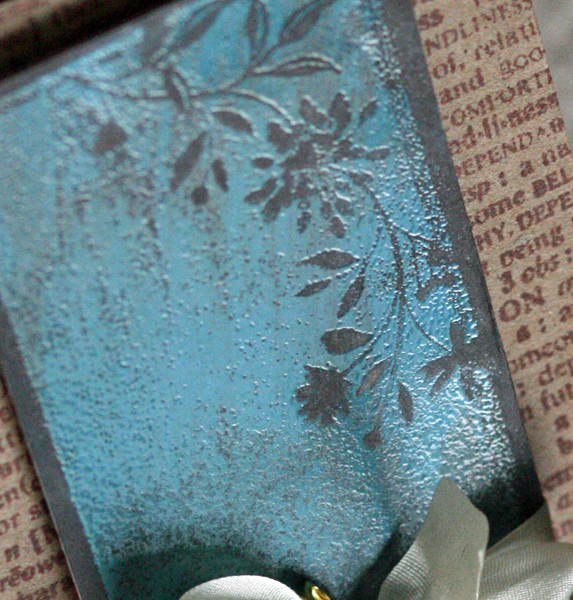 041910 Blue leather card close up 1