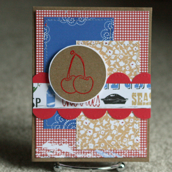 061410 Embossed cherry card