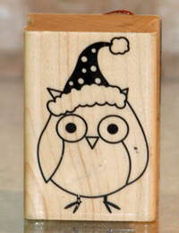 Owl stamp giveaway