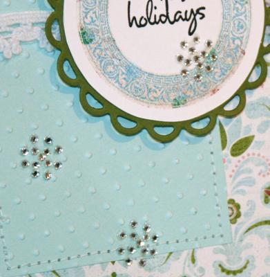 Snowflake card 2