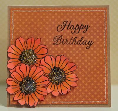 Mom birthday card front