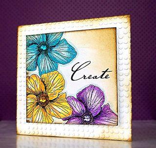 Jill flower card