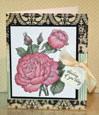 Beate rose card
