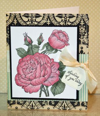 Beate rose card