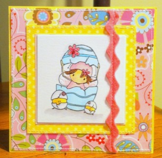 Karen Q Easter card