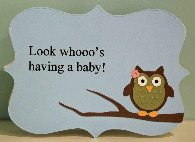 Owl invite front