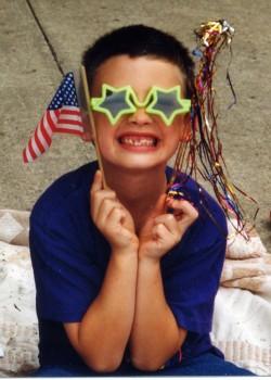 Shane at parade 1998