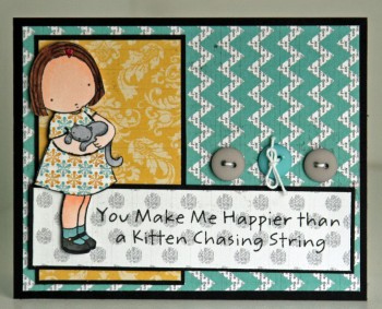 Chasing string card resize