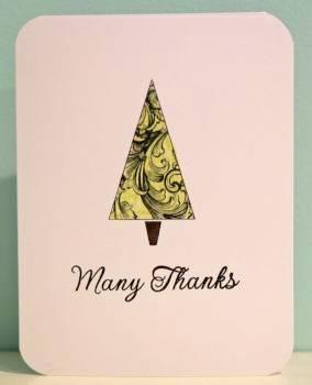 Many thanks card 1