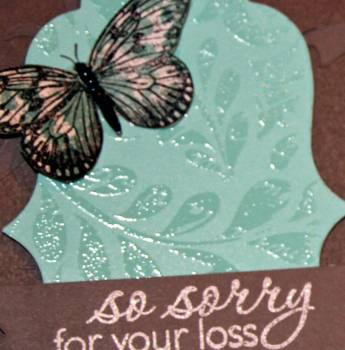 So sorry for your loss card close up 2