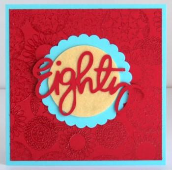 Eighty card