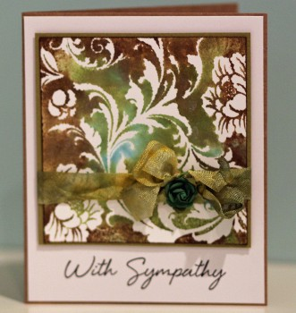 Sympathy DI card