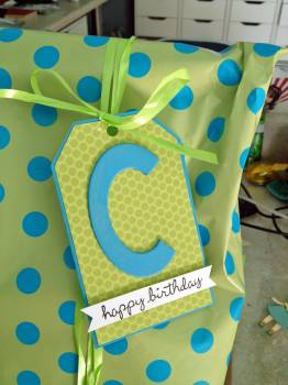 Colin gift tag