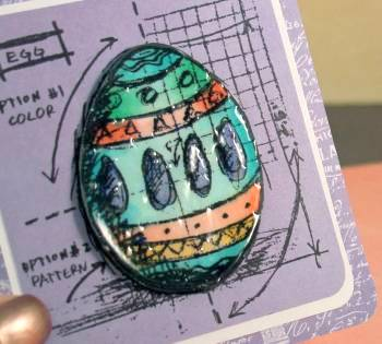 Blueprint Egg card close up lower res
