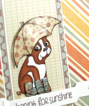 Hoping for sunshine card close up lower res