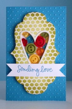 Sending love button card lower res