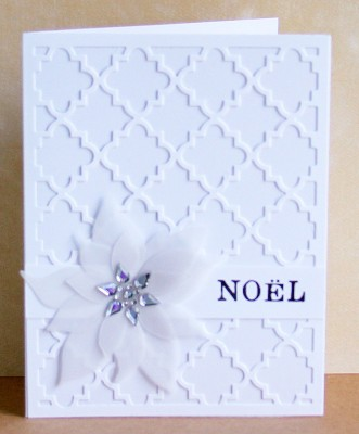 White template card vellum poinsettia lower res