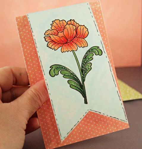 Penny Black Flower card2 lower res
