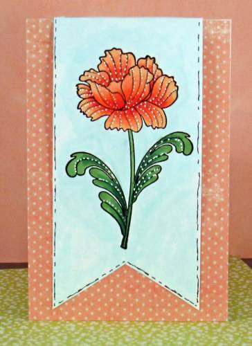 Penny Black Flower card lower res