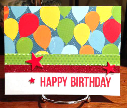 Happy Birthday balloon envelope front lower res