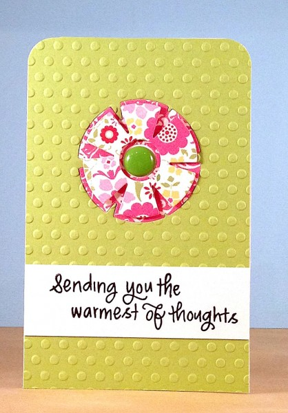 Warmest thoughts flower card lower res