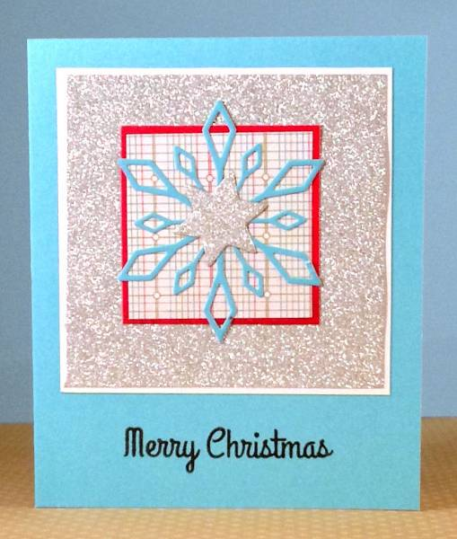 Merry Christmas glittery card lower res