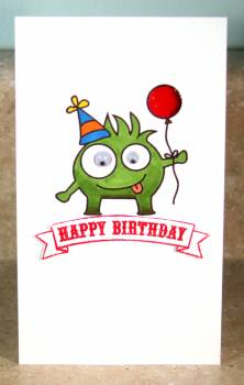 Happy Birthday monster card lower res