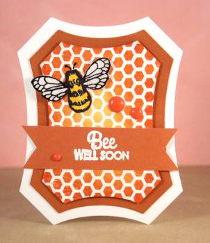 Bee well soon card lower res
