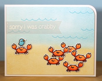 Sorry I was crabby card lower res
