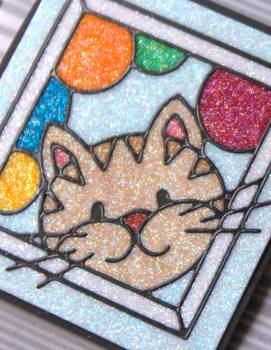 Enjoy Today kitty card close up lower res