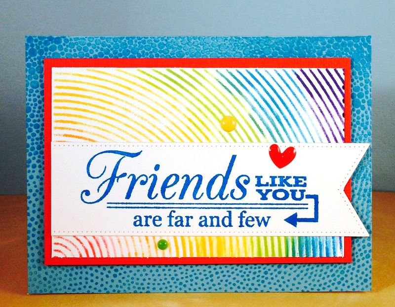 Friend card for Jennifer