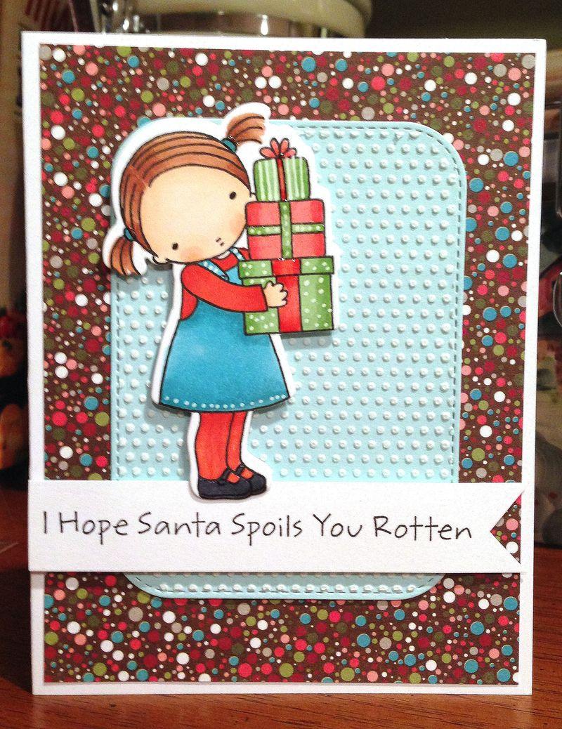 Hope Santa card