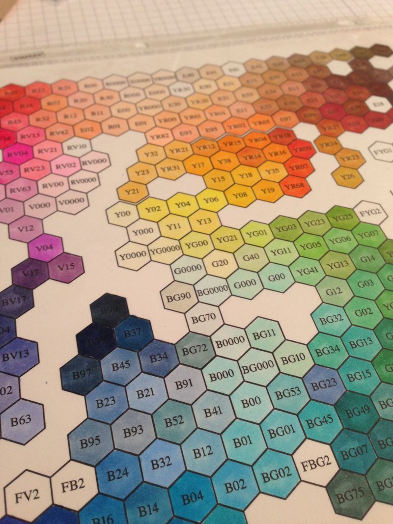 Copic hex chart