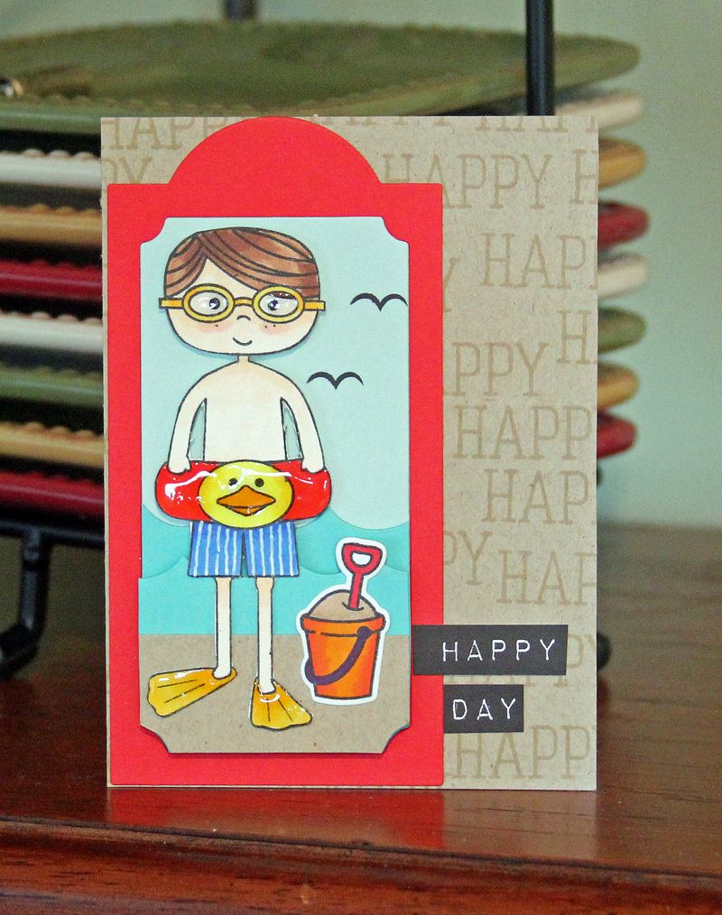 Happy Day boy card